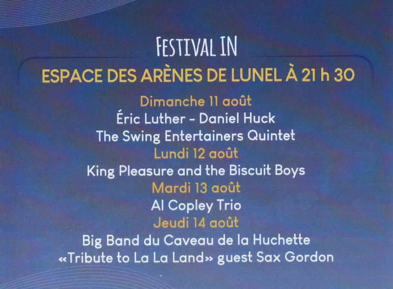 Festival JAZZ de LUNEL IN